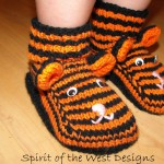 Tiger Slippers For The Whole Family